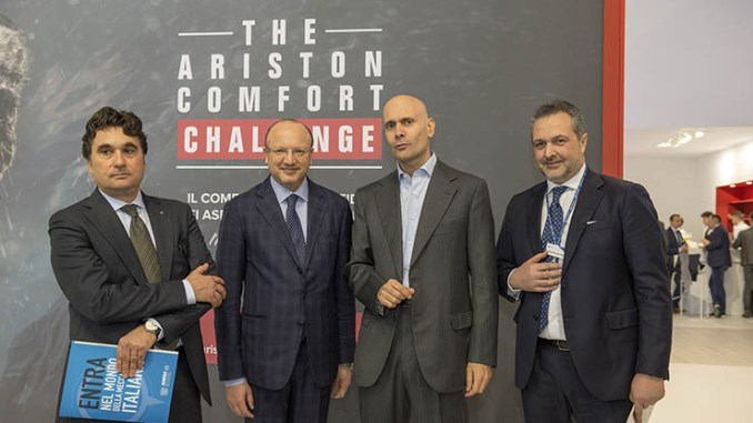 Ariston Thermo a MCE: Comfort is our challenge