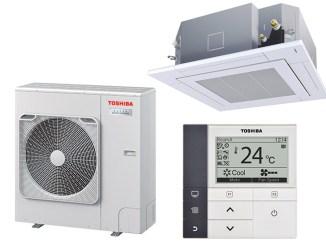 Toshiba Super Digital Inverter, efficienza per light commercial