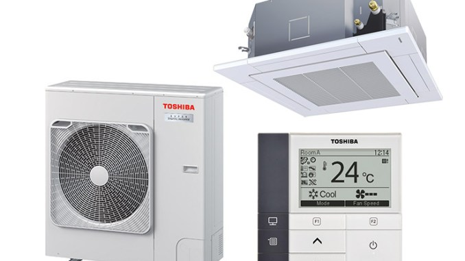 Toshiba Super Digital Inverter, efficienza per light commercial