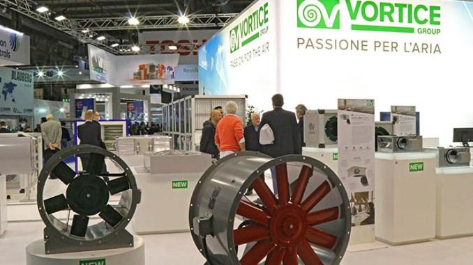 Ventilazione efficiente, Vortice Group partecipa a MCE 2020