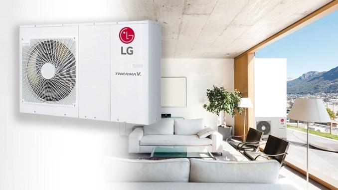 LG THERMA V monoblocco adotta il gas ecologico R32