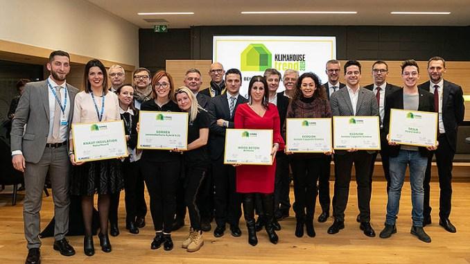 Klimahouse Trend, gli award alle imprese più innovative