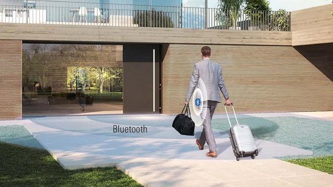 Schüco, addio alle chiavi tradizionali con BlueCon