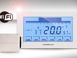 Smart home e termoregolazione multi-zona Fantini Cosmi Intellicomfort+