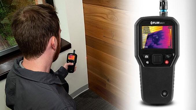 Ispezione termica per l'edilizia, arriva FLIR MR277