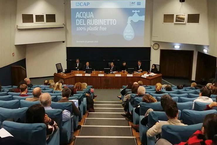 L'acqua di Milano è buona e plastic free