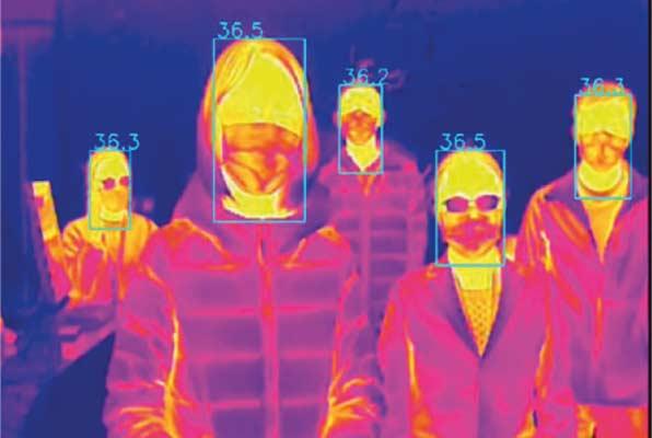 Rilevamento della temperatura corporea