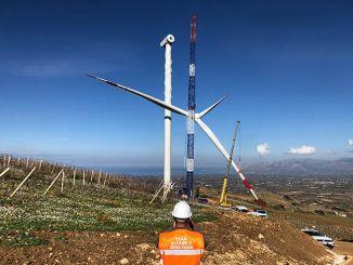 Parco eolico onshore RWE in Sicilia