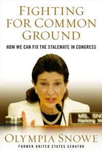 Olympia Snowe book cover 2013