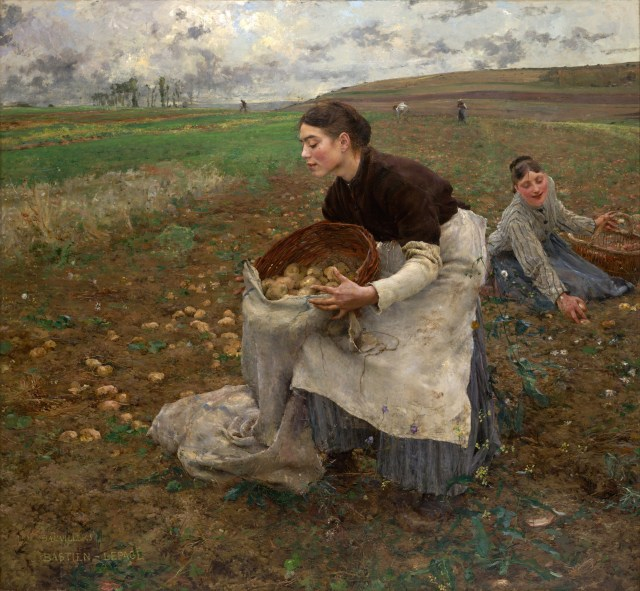 October, Jules Bastien-Lepage (1878, oil on canvass)