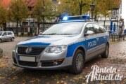 Sachbeschädigungen, Unfälle, Körperverletzung: Aus dem Polizeibericht Rinteln