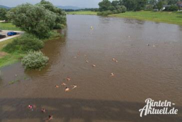 """Am Sonntag: """"Weserschwimmen"""" in Rinteln"""