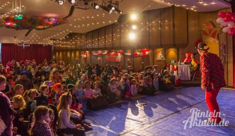 05 rintelnaktuell rcv carnevalsverein kinderkarneval 2017 konfetti schminken party