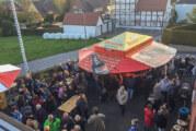 Feuerwehr Deckbergen: Gesellig in den Mai gefeiert