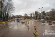 Steinbergen: Letzte Bauphase gestartet / Geänderte Verkehrsführung