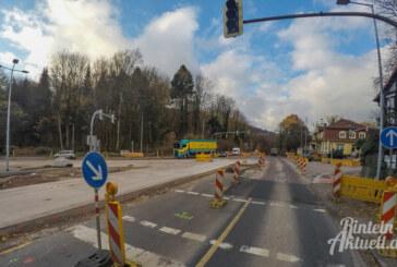 Steinbergen: Letzte Phase der Kreuzungsbaustelle startet Montag