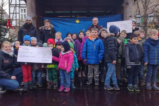 320 Euro aus Nikolaus-Stiefelaktion für Kindergarten und Grundschule