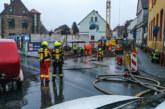 Fünf Stunden Großeinsatz in Bückeburg: Bagger beschädigt Gasleitung in der Innenstadt