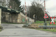 """Bahnübergänge """"Galgenfeld"""" und """"Sandfeld"""" wegen Nachbesserung gesperrt"""