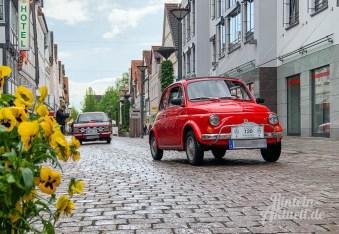 03 rintelnaktuell oldtimer weserbergland fahrt 2019 auto motorrad historisch rinteln innenstadt adac motor club