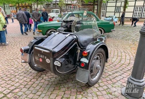 18 rintelnaktuell oldtimer weserbergland fahrt 2019 auto motorrad historisch rinteln innenstadt adac motor club