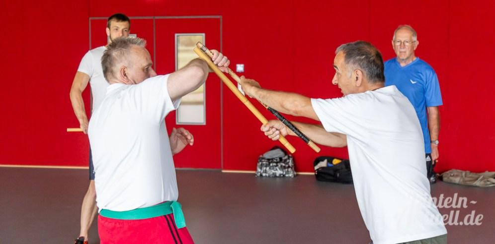 09 rintelnaktuell kerlgesund maennersporttag bkk24 kreissportbund ksb fitness modern arnis bootcamp kanu klettern bewegung aktion 22.6.19