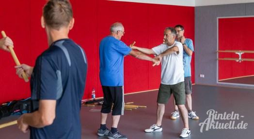 11 rintelnaktuell kerlgesund maennersporttag bkk24 kreissportbund ksb fitness modern arnis bootcamp kanu klettern bewegung aktion 22.6.19