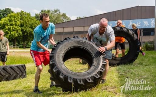 47 rintelnaktuell kerlgesund maennersporttag bkk24 kreissportbund ksb fitness modern arnis bootcamp kanu klettern bewegung aktion 22.6.19