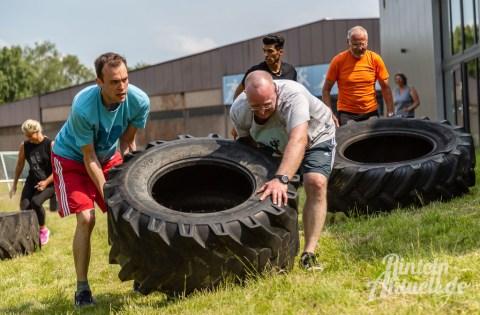 48 rintelnaktuell kerlgesund maennersporttag bkk24 kreissportbund ksb fitness modern arnis bootcamp kanu klettern bewegung aktion 22.6.19