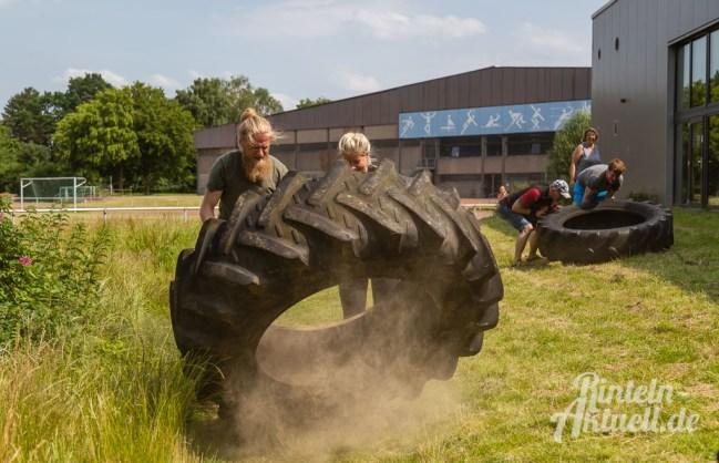 50 rintelnaktuell kerlgesund maennersporttag bkk24 kreissportbund ksb fitness modern arnis bootcamp kanu klettern bewegung aktion 22.6.19