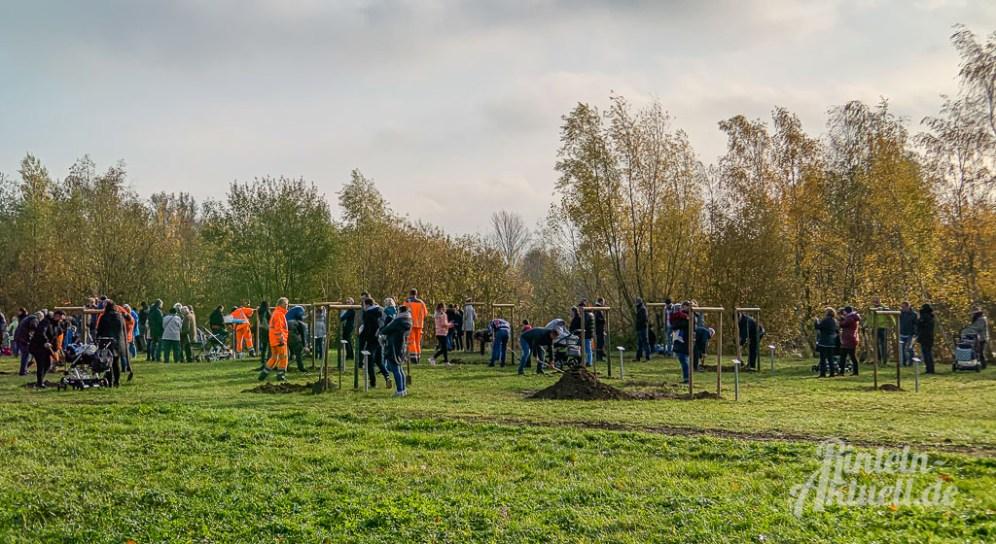 14 rintelnaktuell apfelbaum 2019 pflanzaktion generationenpark eltern kinder bauhof