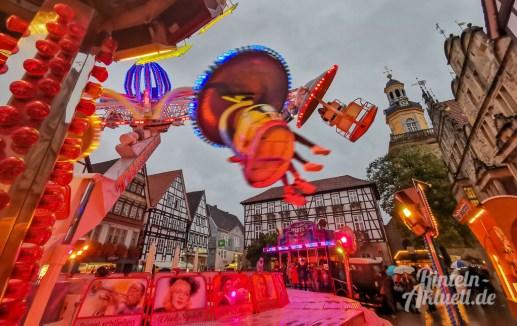 16 rintelnaktuell herbstmesse 2019 kirmes karussell buden fahrgeschaefte jahrmarkt innenstadt altstadt