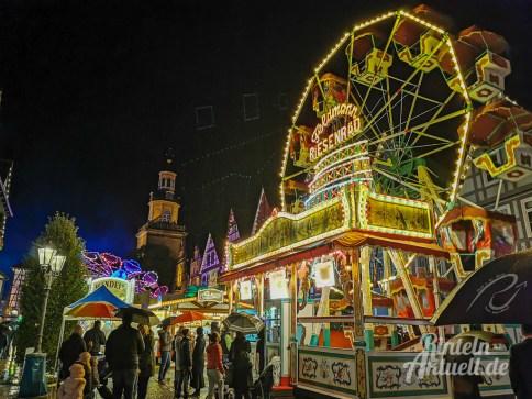 27 rintelnaktuell herbstmesse 2019 kirmes karussell buden fahrgeschaefte jahrmarkt innenstadt altstadt