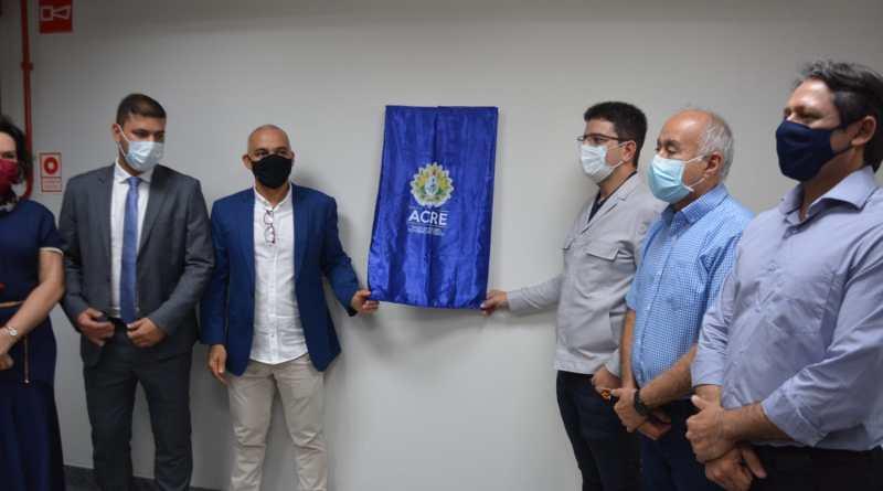 Prefeito Tião Bocalom participa da inauguração da nova sede da Secretaria de Planejamento e Gestão do Estado
