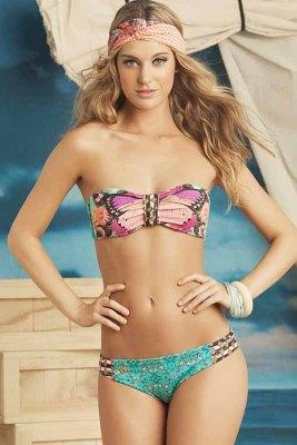 Emerald Butterflies Bikini