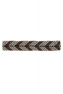 Feather Black Elastic Belt