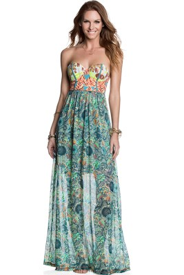 Swan Song Long Dress