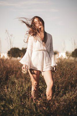 Ivory Lovestruck Romper - Louisa de Paula