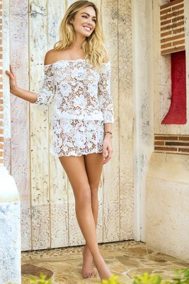Mar de Azucar Cover Up Dress