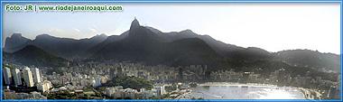 Corcovado visto do Morro da Urca