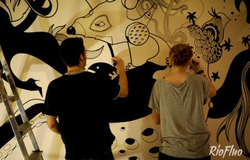 Offrez-vous une performance live des meilleurs artistes issus de l'univers du street art pour apporter la touche « arty » qu'il vous manquait creation-live,riofluo, live painting, street-art, france, graffiti, art urbain, peinture, performance, ile de france, artistique, artiste, graffeur