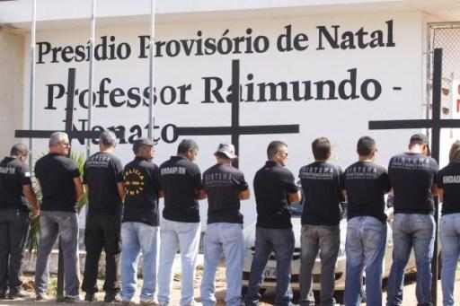 Resultado de imagem para agentes penitenciarios do rn