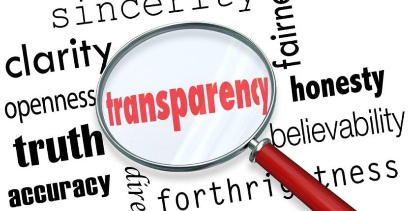 Rating Transparency in Higher Education