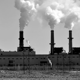 Photo of San Juan Power Plant for Sierra Club article on PNM's utility rate hike proposal rejected by the NM PRC