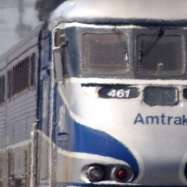 Photo of Amtrak for Sierra Club article on changes to Amtrak service in New Mexico