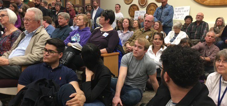Photo of Sandoval County meeting