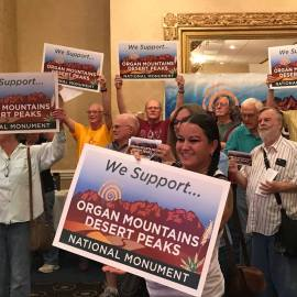New Mexico monuments threatened