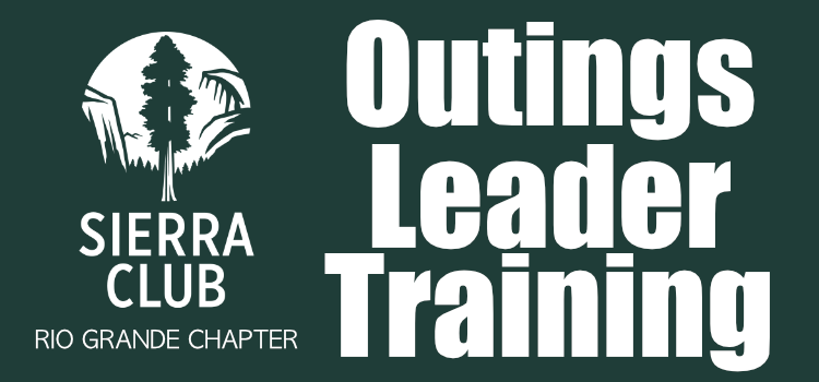 Outings Leader Training – Fall 2018