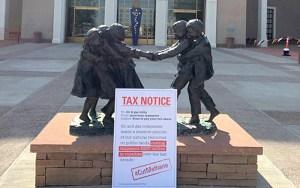 "Oil and gas association gets its ""tax bill"""