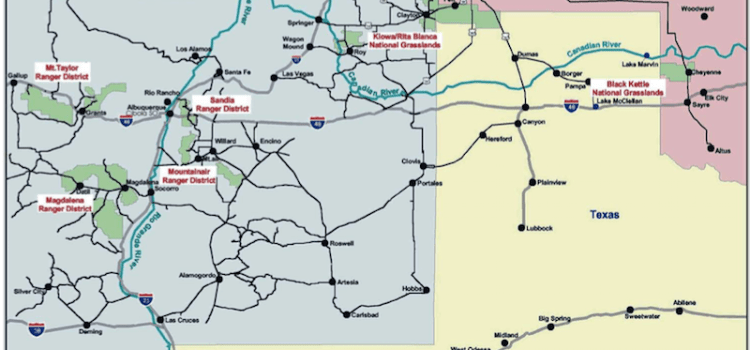 Cibola National Forest Plan revision